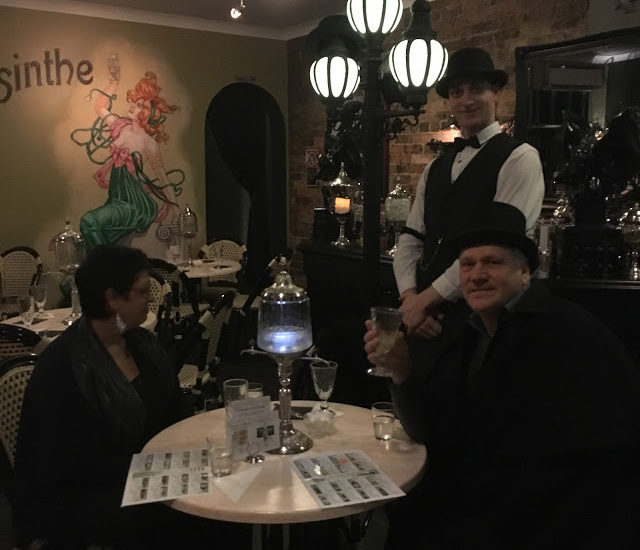 Inside the Absinthe Salon