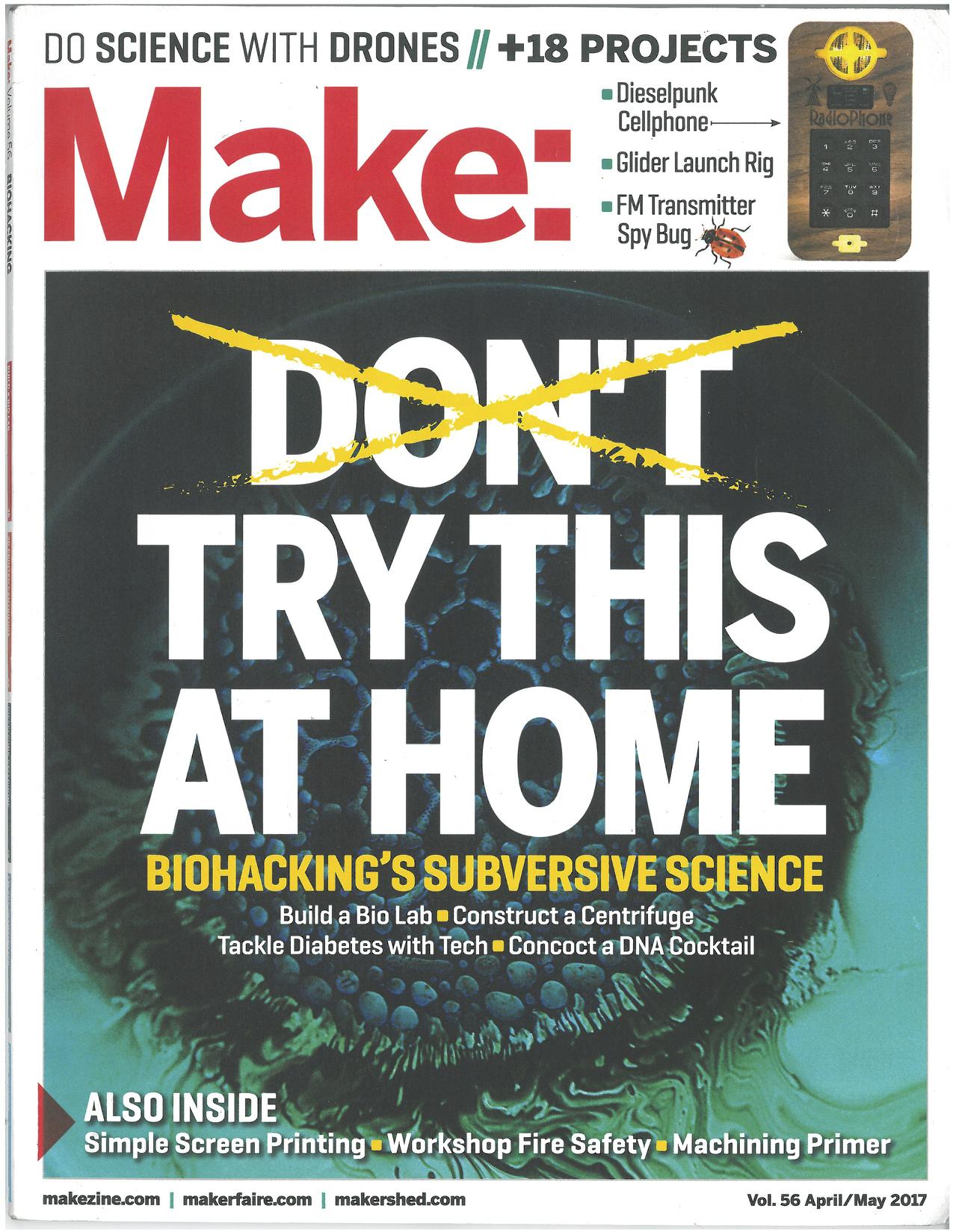 Make Magazine April/May 2017